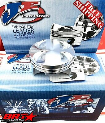 SeaDoo 300 9.5:1 Comp 1.6L ACE Supercharged 100mm Forged Piston Set (3).