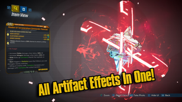 ItaliePS4/XBOX/PC - All Artifact Abilities in One Modded Artifact -  3