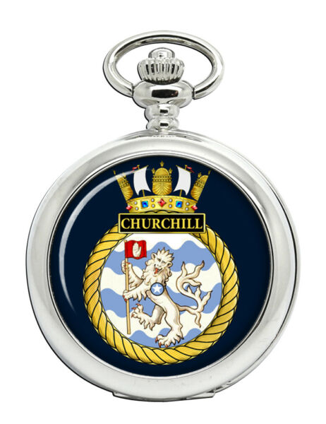 Royaume-UniHms , Royal Marine Poche Montre
