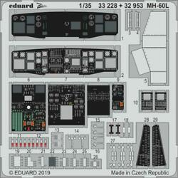 Eduard Models 1/35 Aircraft- MH60L for KTY (Painted) EDU32953