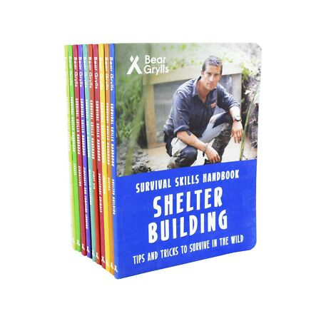 img-Survival Skills 10 Books Non Fiction Children Pack Hardback By Bear Grylls