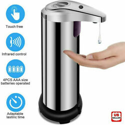 Kyпить 250ml Stainless Auto Handsfree Sensor Touchless Soap Dispenser Kitchen Bathroom на еВаy.соm