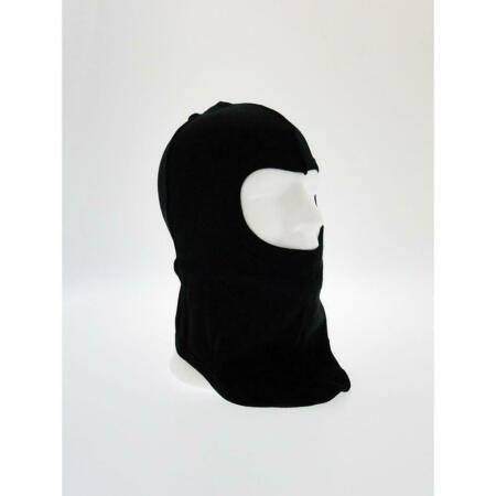 img-Balaclava Tactical 1 Hole Black Cotton Fabric