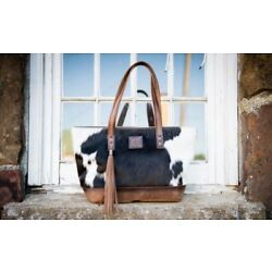 Kyпить STS Classic Cowhide Tote Purse STS31118 на еВаy.соm
