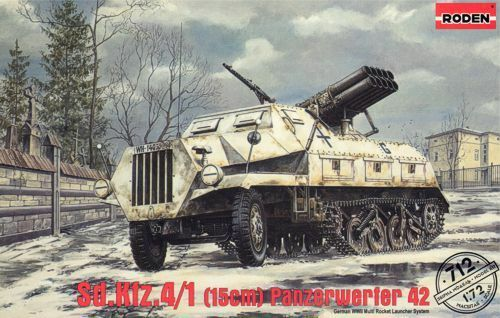 Royaume-UniRoden 1/72 Sd.kfz 4/1 15cm Maultier 42 #712
