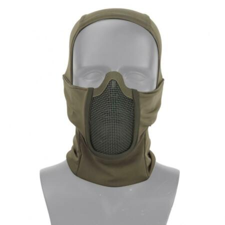 img-Balaclava Green Olive Drab Polyester With Net Metallic Shadow Fighter Wos
