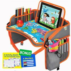 Kyпить Baby Car Seat Travel Play Tray - Kids Activity Tray Table - Toddler Travel Desk на еВаy.соm