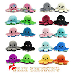 Kyпить Octopus Mood Toy Reversible Flip Double Sided Plush Soft Plushie Emotions Happy  на еВаy.соm