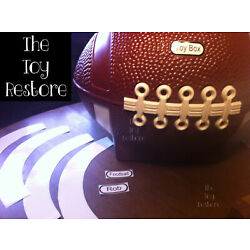 Kyпить Replacement Decals Stickers fits Little Tikes Football Toy Box Customize  на еВаy.соm