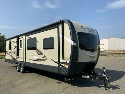 2019 FOREST RIVER FLAGSTAFF CLASSIC 832FLBS CAMPING TRAILER RV 3 SLIDE