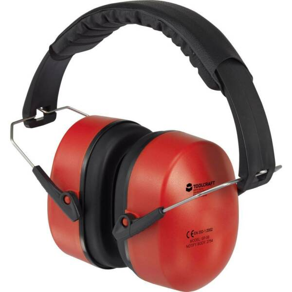 France TO-5621457 Casque anti-bruit SNR 31,3 dB, rouge 1 pc(s)