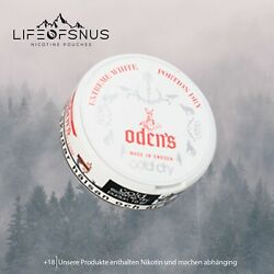 Kyпить Odens Cold Dry Extreme White Dry (10x) Snus / Kautabak / Chewing Bags???????? ✅ на еВаy.соm