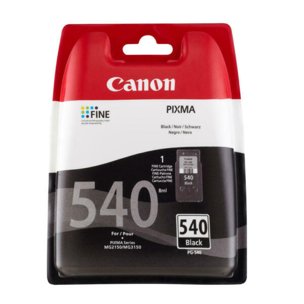 AllemagneOriginal Cartouches D'Imprimante Canon PG-540 Pixma MG3150 MG3550 MX395 TS5150