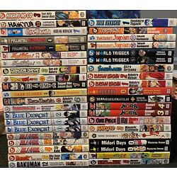 Kyпить Mixed Manga Lot $4.99 Each Shonen Jump Viz Graphic Novel Assorted Action на еВаy.соm