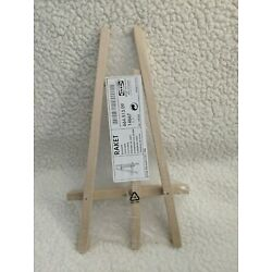 New In Package Small IKEA Wooden Display Easel For Art / Photo NIP 12''