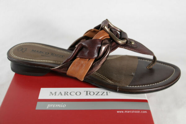 AllemagneMarco Tozzi Paire de Tongs /  Mules Braun Neuf