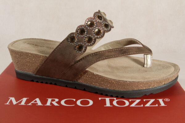 AllemagneMarco Tozzi Paire de Tongs /  Mules Sandales 27204 Neuf