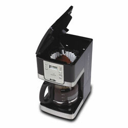 Kyпить  12-Cup Programmable Coffee Maker Black/Stainless Steel Mr. Coffee Advanced Brew на еВаy.соm