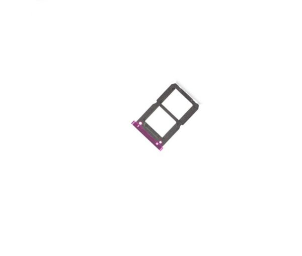 EspagneTray Support Holder Card SIM for Oppo R17 Purple (Dual )