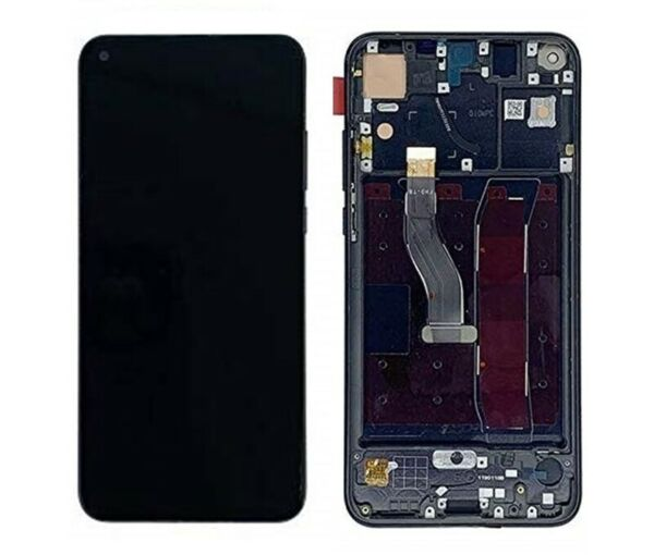 EspagneScreen Touch LCD Full for  Honour View 20 With Frame Black
