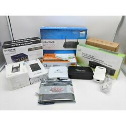 Kyпить Lot of 12 Open Box Network Devices (Switches, Routers, Adapters, etc.) -NR2572 на еВаy.соm