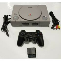Kyпить Sony PlayStation 1 SCPH-7501 Console Game System PS1 Wireless Controller Bundle на еВаy.соm
