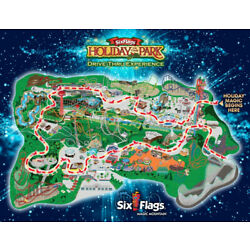 Kyпить SIX FLAGS MAGIC MOUNTAIN, Valencia, CA CHILD Ticket, Holiday in the Park на еВаy.соm