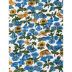 Kyпить Vintage Fabric Cotton Print Seersucker 116
