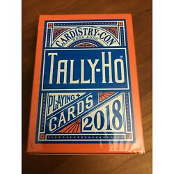 Kyпить 2018 Tally Ho Cardistry Con Playing Cards; New Sealed; Corner Ding на еВаy.соm
