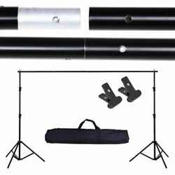 Kyпить Adjustable Background Support Stand Photo Backdrop Crossbar Kit Photography 10Ft на еВаy.соm