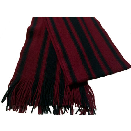 img-The Royal Engineers Lambswool knitted scarf in the colours The Royal Engineers