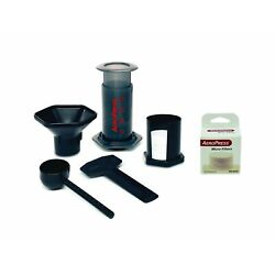 Aeropress Coffee and Espresso Maker Pack with 350 Additional Filters, Brews 1...