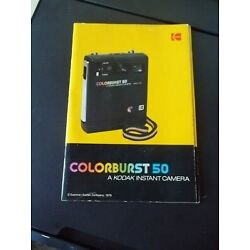 Kyпить Manual Colorburst 50 Kodak Instant Camera, w/org. information cards, Great Cond на еВаy.соm