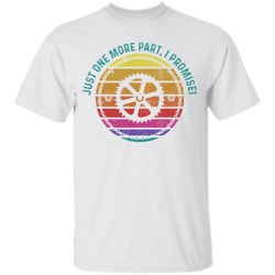 Just One More Part, I Promise! Biking Mountain Bike Youth T-Shirt