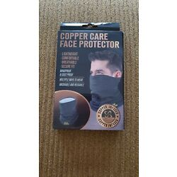 Copper Care Infused Face Protector & Neck Guard Mask Lightweight Washable