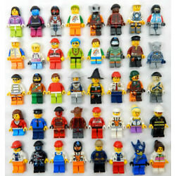 Kyпить 10 NEW LEGO MINIFIG RANDOM LOT mystery figure minifigure city town space female на еВаy.соm