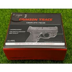 Crimson Trace Green Laserguard for Smith & Wesson M&P Shield 9mm/.40cal  LG-489G