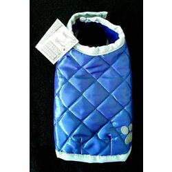 Quilted NorEastern Coat for Dogs Cats Reflective Paw XXS in Stock in USA