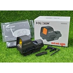 Kyпить Holosun Open Reflex Illuminated 2 MOA Dot & 65 MOA Circle Red Dot Sight - HS510C на еВаy.соm