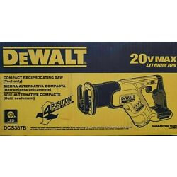 Kyпить DeWalt DCS387B 20V MAX Compact Cordless Reciprocating Saw Tool Only NIB на еВаy.соm