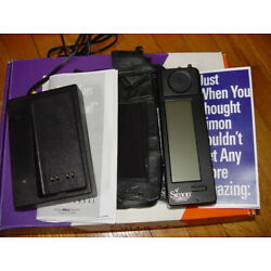 Kyпить IBM Simon Personal Communicator - Worlds First Smartphone Email 1990's w/charger на еВаy.соm