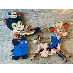 Kyпить 1950's Dolly Toy Co. Hey Diddle Diddle 230 Mother Goose Pin-Ups Tipp City, Ohio на еВаy.соm