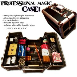 Kyпить PRO CLOSE UP MAGICIANS CARRYING CASE Magic Trick Prop Suitcase- shipped from USA на еВаy.соm