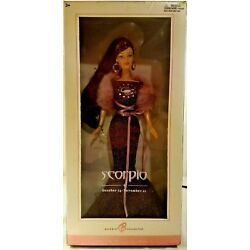 Barbie Collector Pink Label Scorpio Barbie Doll - New in Box, Never Removed