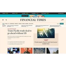 Kyпить Financial Times 3-Year Digital FT Subscription iOS/Android/PC Premium - Anywhere на еВаy.соm