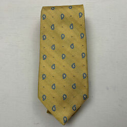 BROOKS BROTHERS MAKERS MEN'S SILK TIE HANDMADE IN USA WOVEN IN ENGLAND C01-02