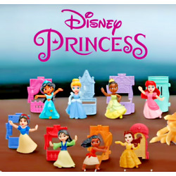 Kyпить PICK 4 OR MORE FOR $5.94 EACH McDONALD'S 2021 DISNEY PRINCESS HAPPY MEAL TOYS!  на еВаy.соm