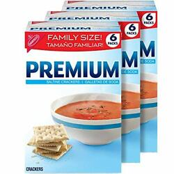 Kyпить  Premium Saltine Crackers, Family Size - 3 Boxes на еВаy.соm