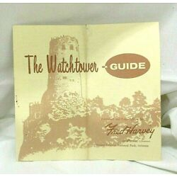 Kyпить Vintage Fred Harvey The Watchtower Brochure Grand Canyon National Park Arizona на еВаy.соm