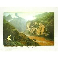 Kyпить Vintage 1977 Chinese The Three Gorges of the Yangtse Postcard Book Packet of 12 на еВаy.соm